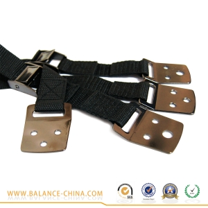 Metal and plastic TV straps, TV safety straps