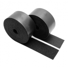 China Black Strong Sticky Self Adhesive Stickers China Manufacturer Provide Peel Nylon width Stick Hook And Loop company