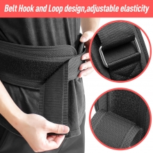 China Training Deep Squat Wholesale Weightlifting Slimming Sport Lumbar Gym Compression Fitness Colorful Waist Belt factory